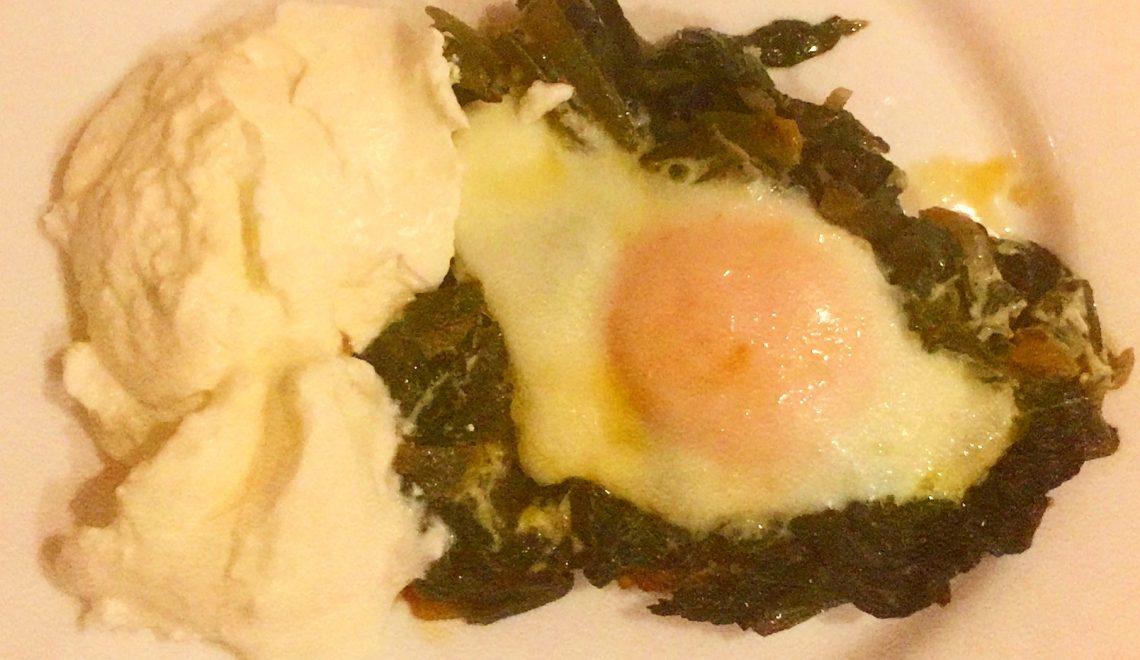 Yumurtalı Pazı Kavurması